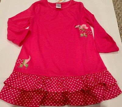 NWT GYMBOREE Pink Puppy Hearts Nightgown 24M/2T GIRL PJ