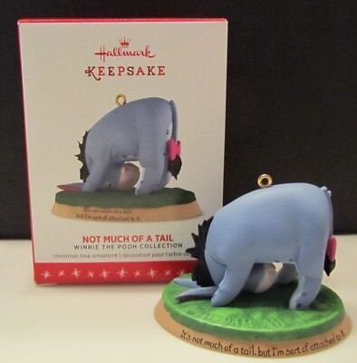 2016 Hallmark Not Much of A Tail Eeyore Ornament – Winnie the Pooh Collection