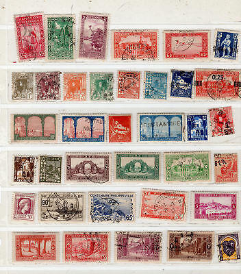 France Colonies Algeria Europe  Africa  Stamps Mh & Canceled  Lot 24851