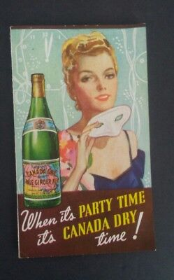 Vintage 1930s Canada Dry Soda Recipe Booklet 1939 worlds fair