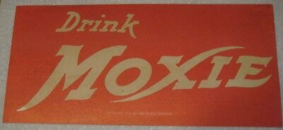 Vintage MOXIE advertising sign dated 1915