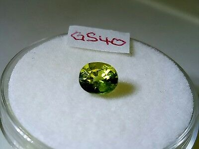 blue Green Sapphire 5.5x4.7mm Oval 0.76ct Loose Natural Gemstone very nice stone