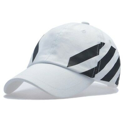 4deff4b04be Off-White Virgil Abloh Baseball Cap Men Hat 2018 Summer Dad hat Women Hip  Hop