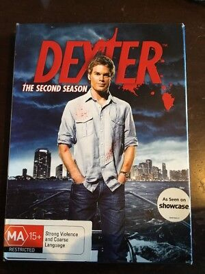 DEXTER Season Two Very Good Condition 4 DVDs R4