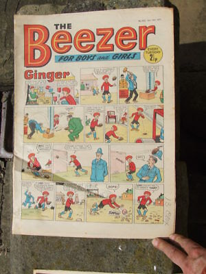 The Beezer No 822. (1971).  Good postage savings made on multiple purchases.
