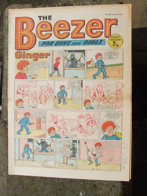 The Beezer No 790. (1971).  Good postage savings made on multiple purchases.