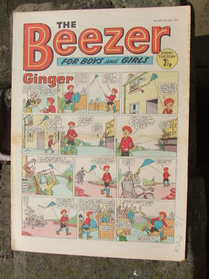 The Beezer No 820. (1971).  Good postage savings made on multiple purchases.