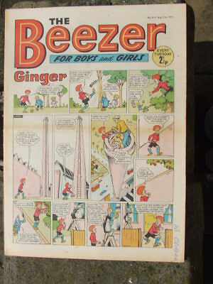The Beezer No 814. (1971).  Good postage savings made on multiple purchases.