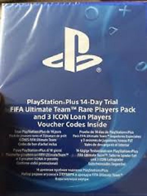 FIFA 18 Playstation Plus 14 Day Trial Ultimate Team NEW & SEALED