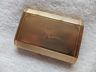 Vintage Melissa Musical Powder Cosmetic Compact