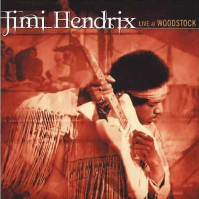 Hendrix Jimi Live At Woodstock 3 Vinyles Lp + Brochure 24 Pages Neuf Scellé
