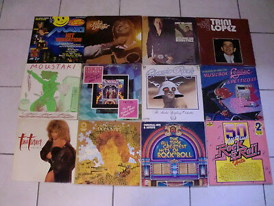 "79X LP s + 6X 12"" Maxis Pop .. rock Country wild mix , ca. 21 Kg weight lot"
