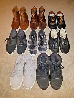 Lot Of 8 Shoes Men's Us Size 9
