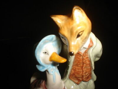 royal albert jemima puddle duck with foxy whiskered gentlemen