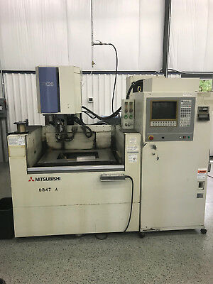 Mitsubishi FX20 CNC Wire EDM Currently Powered Up