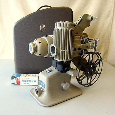Vintage 1930s Bell & Howell 173-BD Time & Motion Study 16mm Movie Film Projector