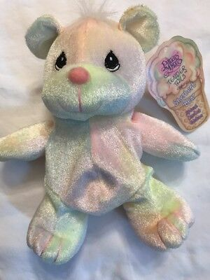 NWT Precious Moments Tender Tails Sherbert Bear Special Limited Edition 7in