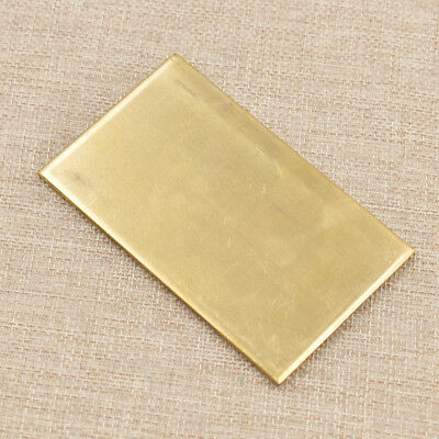 1pc Brass Metal Thin Sheet Plate Welding Metalworking Craft DIY Tool Yellow Foil