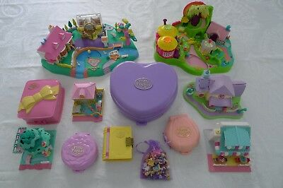 Polly Pocket Sammlung Konvolut Zauberwald Boutique Disney Surprise Kindergarten