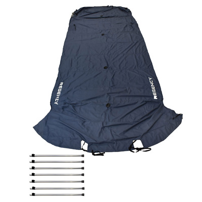 Regency Boat Pontoon Cover 1899983 | 254 LE3 Blue White 37006-16 Dowco