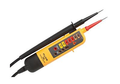 Fluke T90 Voltage & Continuity Tester-Yellow