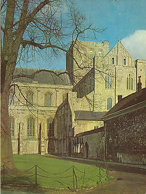 Winchester Cathedral, Hampshire 1950s Vintage Colour Print #304053