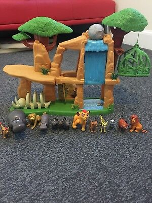 Lion Guard Defend The Land Playset & Figures