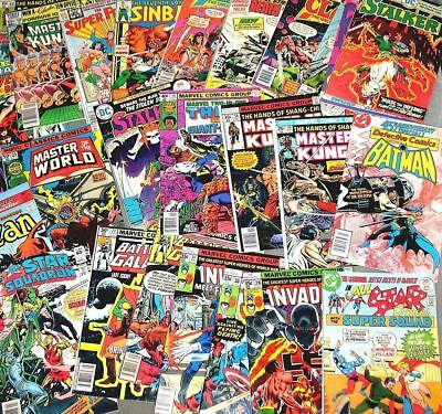 WHOLESALE LOT 10 BRONZE AGE (1970-1983) COMIC BOOKS LOT Marvel DC ++ #comics