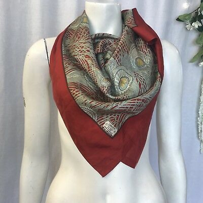 Liberty. Hera. Lovely Large Classic   Vintage Silk Scarf
