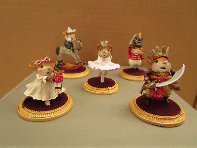 Wee Forest Folk NC-5 Complete Nutcracker Set of 5 pieces - Limited Edition