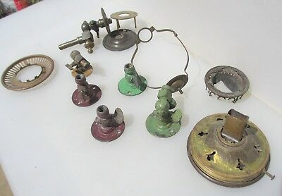 Victorian Brass Gas Wall Light Parts Sconce Antique Old SPARE -REPAIRS - PROJECT