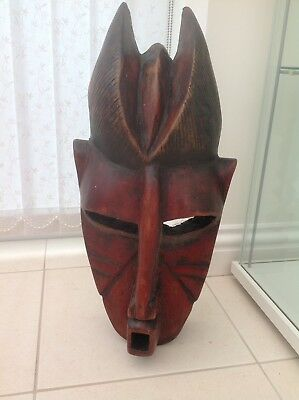antique african mask From Zimbabwe