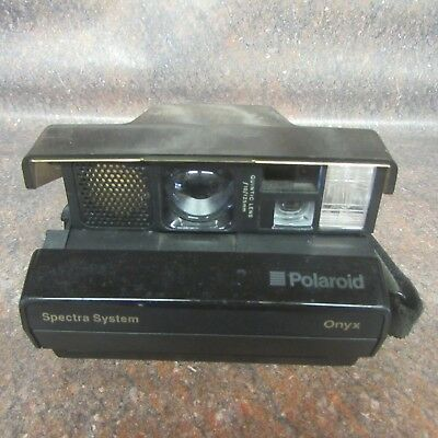 Polaroid SPECTRA System ONYX Instant Camera Special Edition Clear Body (K4)