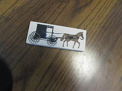 The Cats Meow,  Year Unknown, Theme Unknown, Horse And Buggy