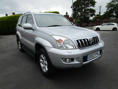 Toyota Land Cruiser 3.0 D-4D LC3 5dr 8 Seater, Manual