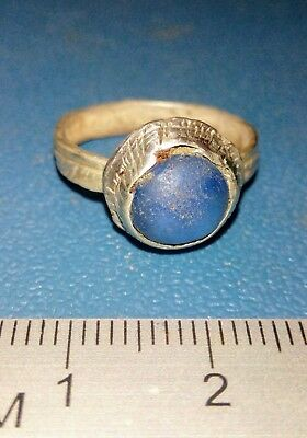 Post Medieval Silver Ring 16-17th century.