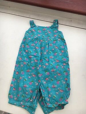 Monsoon Flamingo Playsuit/romper 2-3y