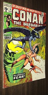 CONAN THE BARBARIAN #9 -- September 1971 -- VG+ Or Better