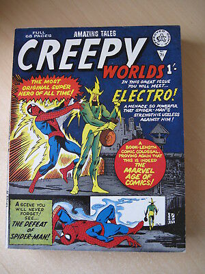 Creepy Worlds Comic 1960's