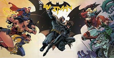 Batman 50 Joe Madureira Cover A B C 3 Pack Variant Set Nm