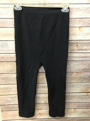Ingrid Isabel Maternity Seamless Belly Capri Leggings Nwot Solid Black
