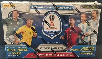 2018 Panini Prizm Russia Fifa World Cup Soccer Hobby Sealed Box - In Stock!