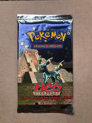 Pokémon 2001 Neo Discovery Booster sealed Umbreon Artwork Booster Pack english