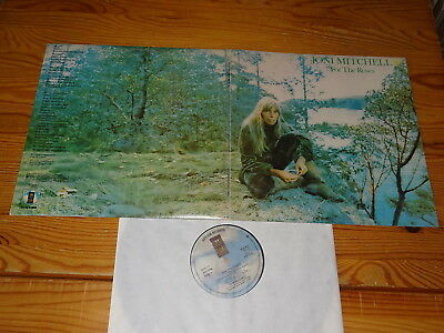 Joni Mitchell - For The Roses / Uk-Foc-Lp 1972 (Ex)