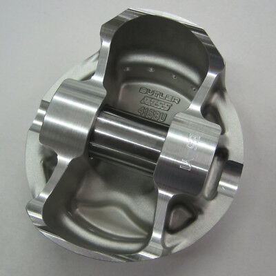 "Ross Pontiac Flat Top Pistons 4.180"" Bore, 1.520 CH (4.00 str/6.700 rod) 141027"