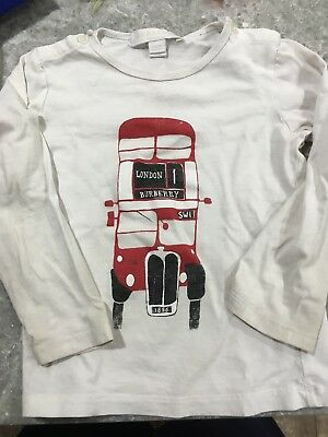 Burberry Childrens Shirt Size 2t