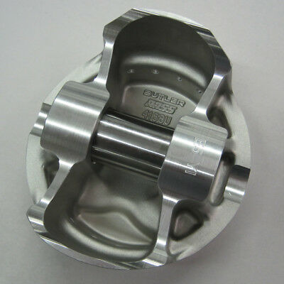 "Ross Pontiac Flat Top Pistons 4.160"" Bore, 1.170 CH  (4.5""Str)  145824"