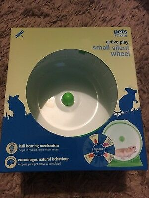 Small Silent Hamster Mouse Gerbil Wheel Play Toy