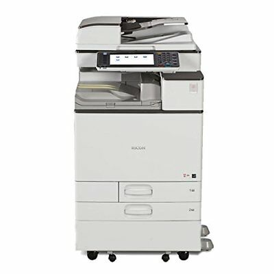 Ricoh MPC 5502 Color Copier Printer Scan Clean Ultra Low Meter