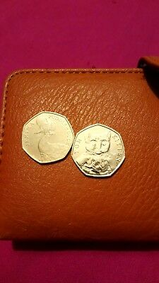 50p coins jemima puddle-duck and tom kitten
